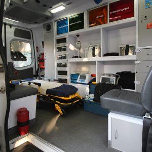 Unidades móviles equipadas con los últimos avances en atención médica de urgencia