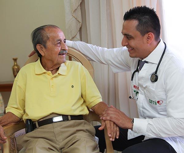 Asistencia a mayores en Colombia